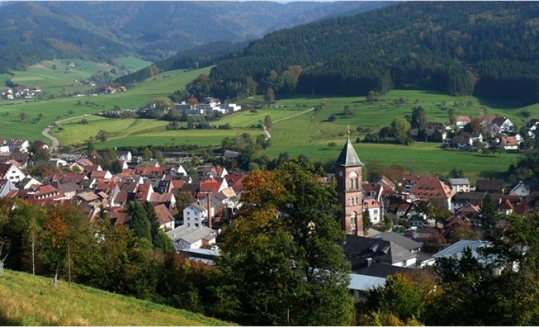 Contreforts de la Forêt Noire du côté d'Elzach (D)