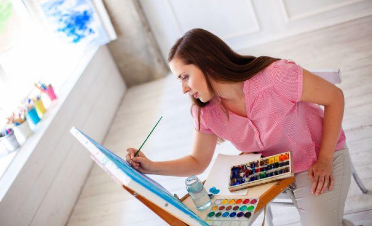 Peinture, gouache, acrylique et huile