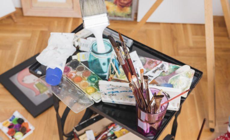 Peinture gouache, acrylique et huile (lundi 14h00)